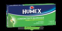 HUMEX CONJONCTIVITE ALLERGIQUE 2 %, collyre en solution en récipient unidose à YZEURE