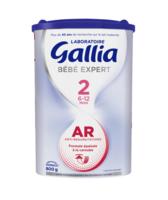 Gallia Bébé Expert AR 2 Lait en poudre B/800g à YZEURE