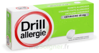 Drill 10 Mg Comprimés à Sucer Allergie Cétirizine Plq/7 à YZEURE