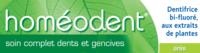 Boiron Homéodent Soin Complet Dents Et Gencives Pâte Dentifrice Anis T/75ml à YZEURE