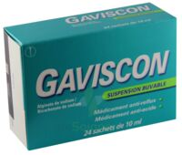 GAVISCON, suspension buvable en sachet à YZEURE