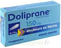 Doliprane 150 Mg Suppositoires 2plq/5 (10) à YZEURE