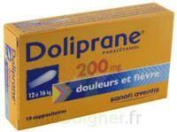 DOLIPRANE 200 mg Suppositoires 2Plq/5 (10) à YZEURE