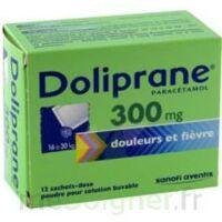 DOLIPRANE 300 mg Poudre pour solution buvable en sachet-dose B/12 à YZEURE