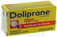 DOLIPRANE 1000 mg Comprimés effervescents sécables T/8 à YZEURE
