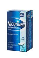 NICOTINELL MENTHE FRAICHEUR 4 mg SANS SUCRE, gomme à mâcher médicamenteuse 8Plq/12 à YZEURE