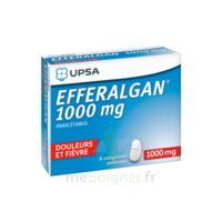 Efferalgan 1000 Mg Comprimés Pelliculés Plq/8 à YZEURE
