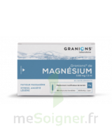GRANIONS DE MAGNESIUM 3,82 mg/2 ml S buv 30Amp/2ml à YZEURE