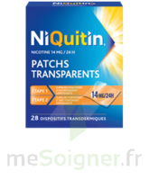NIQUITIN 14 mg/24 heures, dispositif transdermique Sach/28 à YZEURE