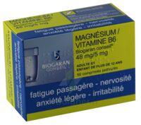 MAGNESIUM/VITAMINE B6 BIOGARAN CONSEIL 48 mg/5 mg, comprimé pelliculé à YZEURE
