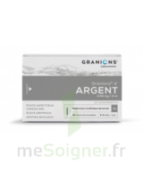 GRANIONS D'ARGENT 0,64 mg/2 ml S buv 30Amp/2ml à YZEURE