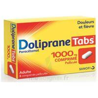 DOLIPRANETABS 1000 mg Comprimés pelliculés Plq/8 à YZEURE