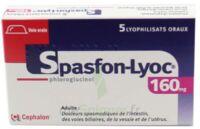 SPASFON LYOC 160 mg, lyophilisat oral à YZEURE