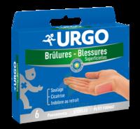 URGO BRULURES-BLESSURES PETIT FORMAT x 6 à YZEURE