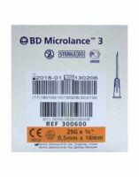 Bd Microlance 3, G25 5/8, 0,5 Mm X 16 Mm, Orange  à YZEURE