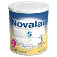 Novalac S 2 Lait En Poudre Satiétant 2ème âge B/800g à YZEURE