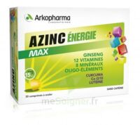 Azinc Energie Max Comprimés Dès 15 Ans B/30 à YZEURE