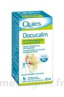 QUIES DOCUCALM ANTIDEMANGEAISONS DU CONDUIT AUDITIF, spray 20 ml à YZEURE