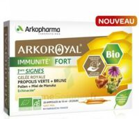 Arkoroyal Immunité Fort Solution Buvable 20 Ampoules/10ml à YZEURE