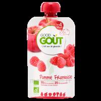 Good Goût Alimentation Infantile Pomme Framboise Gourde/120g à YZEURE