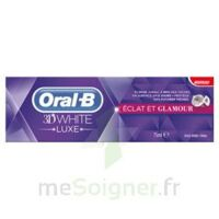 ORAL B 3D WHITE LUXE ECLAT ET GLAMOUR, tube 75 ml à YZEURE