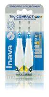 Inava Brossettes Tri Compact étroit  012 Noir 0,6mm/ Bleu 0,8mm/ Jaune 1mm à YZEURE