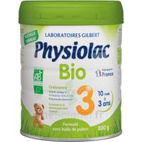 Physiolac Bio Lait 3éme Age 800g à YZEURE