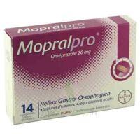 MOPRALPRO 20 mg Cpr gastro-rés Film/14 à YZEURE