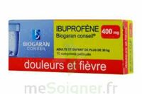 IBUPROFENE BIOGARAN CONSEIL 400 mg, comprimé pelliculé à YZEURE