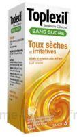 TOPLEXIL 0,33 mg/ml sans sucre solution buvable 150ml à YZEURE