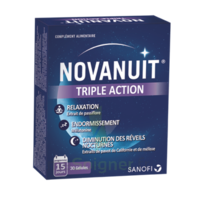 NOVANUIT Triple action Gélules B/30 à YZEURE