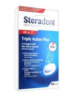 STERADENT TRIPLE ACTION, tube 30, bt 3 à YZEURE