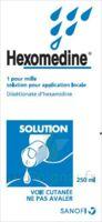 Hexomedine 1 Pour Mille S Appl Loc Fl/250ml à YZEURE
