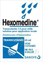 HEXOMEDINE TRANSCUTANEE 1,5 POUR MILLE, solution pour application locale à YZEURE