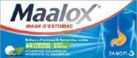 MAALOX HYDROXYDE D'ALUMINIUM/HYDROXYDE DE MAGNESIUM 400 mg/400 mg Cpr à croquer maux d'estomac Plq/60 à YZEURE
