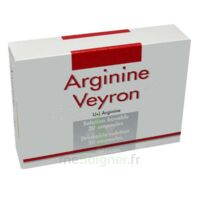 ARGININE VEYRON, solution buvable en ampoule à YZEURE