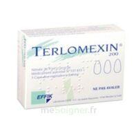 TERLOMEXIN 200 mg, capsule molle vaginale à YZEURE