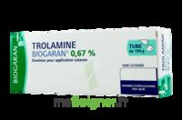 TROLAMINE BIOGARAN 0,67 % Emuls appl cut T/186g à YZEURE