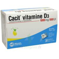 Cacit Vitamine D3 1000 Mg/880 Ui, Granulés Effervescents 90sach/8g à YZEURE
