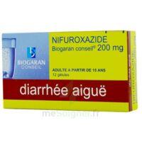 NIFUROXAZIDE BIOGARAN CONSEIL 200 mg, gélule à YZEURE