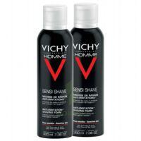 VICHY mousse à raser peau sensible LOT à YZEURE