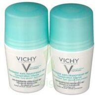 VICHY TRAITEMENT ANTITRANSPIRANT BILLE 48H, fl 50 ml, lot 2 à YZEURE