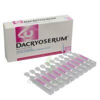 DACRYOSERUM Solution pour lavage ophtalmique en récipient unidose 20Unidoses/5ml à YZEURE