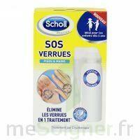 Scholl SOS Verrues traitement pieds et mains à YZEURE