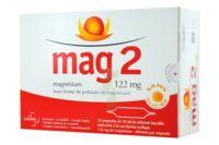 MAG 2 SANS SUCRE 122 mg, solution buvable en ampoule édulcoré à la saccharine sodique à YZEURE