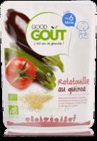 Good Gout Plats Ratatouille Au Quinoa  Bio Des 6 Mois 190 G à YZEURE