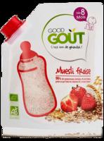 Good Gout Cereales Muesli Fraise Bio Des 8 Mois 200g à YZEURE