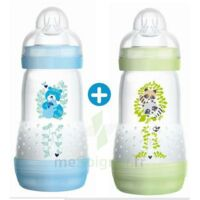 MAM BIBERON EASY START anti-colique 260 ml lot de 2_ BLEU & VERT à YZEURE