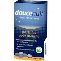 DOUCENUIT ANTIRONFLEMENT PASTILLES à la menthe, bt 16 à YZEURE