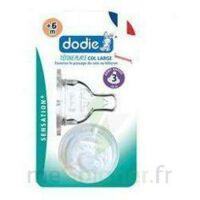Dodie Sensation+ Tétine Plate Débit 2 Silicone 0-6mois à YZEURE